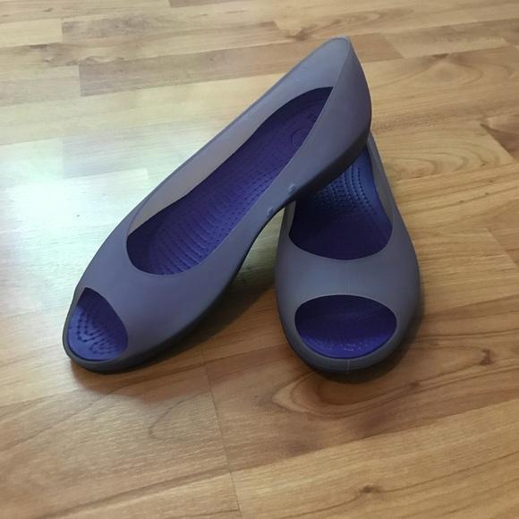 2bfe251e122d13 Crocs Carlie Open-toe Flats